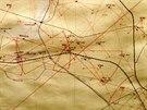 Palebné linie jednotlivých objektů jihomoravského opevnění se důmyslně...