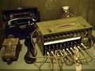 Telefonní centrála z poválečných let.