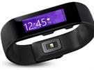 Microsoft band je vybaven řadou senzorů, podobně jako konkurenční fitness...