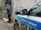 Místní kv�li zaslepení �isti�ky pozvali policii, ta ale �ádné poru�ení zákona...