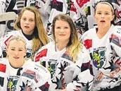Karvinské hokejistky se p�i svém druhém startu v Lize mistry� probojovaly do...