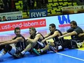 D��ín�tí �vesla�i� slaví výhru v derby s Ústím nad Labem.
