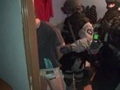 Zásah policie proti distributor�m pervitinu v Odolenovicích na Jablonecku