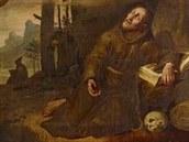 Josef Führich, Vidění sv. Františka na Laverně, 1823