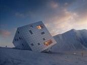 Designová lahůdka. Horskou chatu ve tvaru obří krychle navrhli Češi