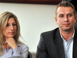 Dva nominovan� n�m�stci prim�tora za hnut� ANO Kate�ina �ebestov� a David...