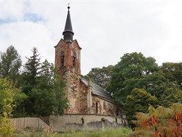 Kostel sv. Ji�� v Lukov� na Plze�sku.
