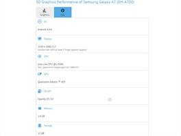 GFXbench odhalil parametry Samsungu Galaxy A7