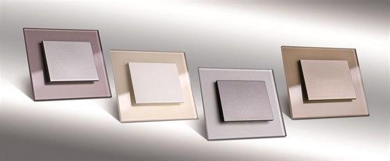 Nejnovější barevné trendy skleněných vypínačů DECENTE