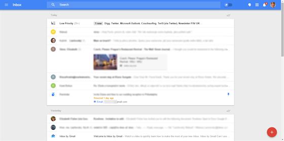 Takto vypadá úvodní stránka webového rozhraní.