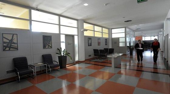 Kanceláře byly řešené podobně jako dnešní open space.