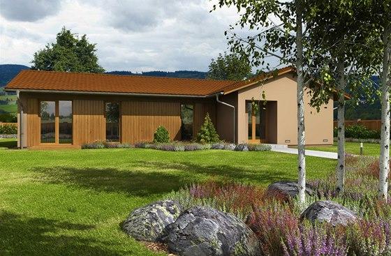 Vizualizace: Bungalovy dnes patří k velmi žádaným typům domů.