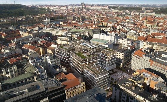 Z nov�ch administrativn�ch center si v�t�zstv� odneslo Quadrio v Praze 1.