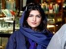 Ghoncheh Ghavamiová na fotce z roku 2011.