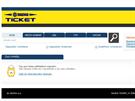 ČAS VYPRŠEL. Po několika minutách čekání se zájemcům o lístky na hokejové MS 2015 v Česku objeví tento nepříjemný vzkaz.