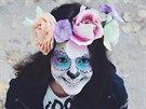 Halloweenská maska podle Teri Blitzen
