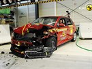 Crashtest Škoda Fabia