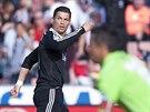 DALŠÍ TREFA KANONÝRA. Skóre zápasu v Granadě otevřel Cristiano Ronaldo.