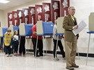 Obyvatelé amerického Louisville ve státě Kentucky hlasují o svých zástupcích (4. listopadu 2014).