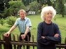 Prezident Václav Havel se svou první ženou Olgou na Hrádečku v roce 1993