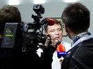 Bývalý premiér Jiří Paroubek mluví o odchodu z politiky při rozhovoru s iDNES.cz. (7. listopadu 2014)