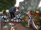U hrobu Jána Ušiaka a dalších partyzánů v beskydské Čeladné se po sedmdesáti letech od dramatických událostí konal pietní akt.