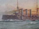 Pancéřový křižník Monmouth.