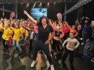 Richard Genzer tančil jako John Travolta.