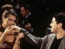 Scéna ze seriálu Přátelé, která Andreho Agassiho rozčílila natolik, že rozbil všechny své trofeje.