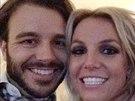 Britney Spears zveřejnila selfie s novým přítelem.