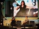 Ředitelka společnosti Equinox Sarah Robb O´Haganová diskutuje o budoucnosti chytrých fitness doplňků.