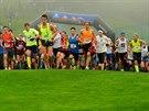 Start hlavního závodu na osm kilometrů.