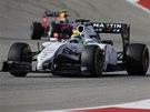 Felipe Massa ve Velké ceně USA formule 1.