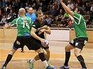 Momentka z utkání KP Brno - Zubří