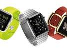 Všechny tři edice hodinek Apple pohromadě