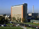 Zlínský Baťův mrakodrap je sídlem krajského a finančního úřadu, ale také