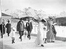 Nov� v�stava Co by bylo, kdyby nebylo Sarajevo? p�edstavuje historick� sn�mky ze �ivota Ferdinanda d�Este