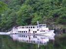 Výletní loď na Štěchovické přehradě