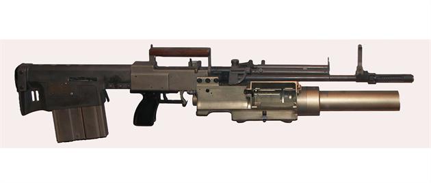 Prototyp zbran� pro program SPIW firmy Springfield z roku 1964