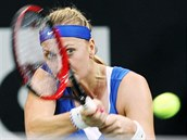 Petra Kvitová ve finále Fed Cupu proti Andree Petkovicové