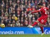 Emre Can z Liverpoolu skóruje ve šlágru anglické ligy proti Chelsea.