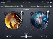 V aplikaci djay 2 si můžete mixovat i hudbu ze streamovací služby Spotify.