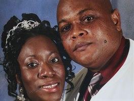 Patrick Sawyer s manželkou