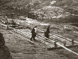 Voraři u Dolního Slapu (r. 1930)