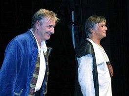 Premiéra divadelní hry Jakub a jeho pán (2005)