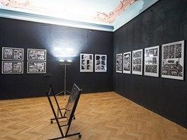Z výstavy Jaromír 99: Průřez