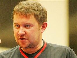 Basketbalový rozhodčí Marek Vondráček.