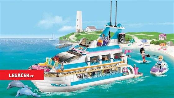 Loď za delfíny