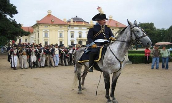 Slavkovský zámek se také přenese do atmosféry proslulé bitvy, dokonce se potkáte i s Napoleonem
