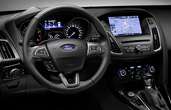 Ford Focus aktuální třetí generace ve faceliftovaném provedení